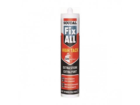 Soudal fix all high tack 290ml  wit