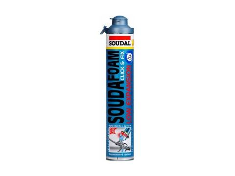 Soudal click & fix low expansion 750ml