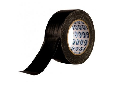 Hpx cloth tape 50mm x 25m zwart