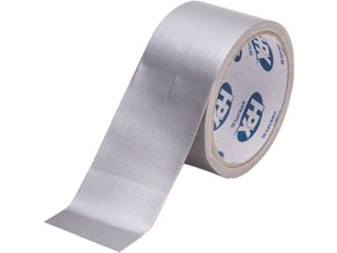 Hpx cloth tape 50mm x 25m zilver