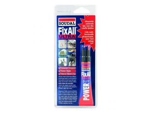 Soudal fix all ultra transparant 20ml