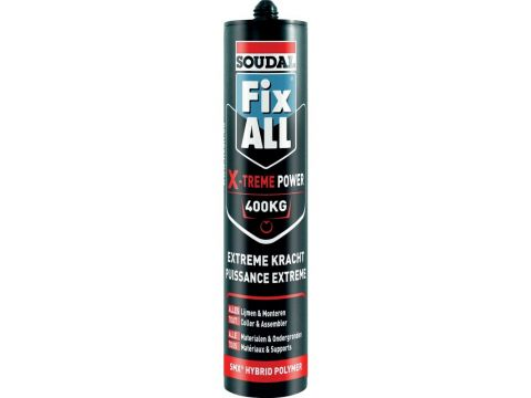 Soudal fix all x-treme power wit