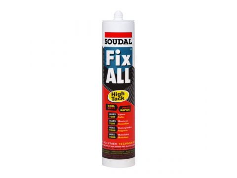 Soudal fix all high tack 290ml  zwart