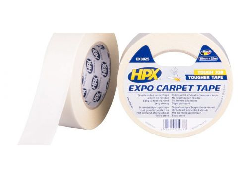 Hpx expo carpet tape wit 38mmx25m