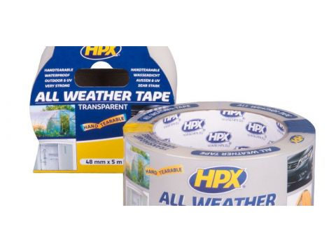 Hpx all weather tape transp 48mmx25