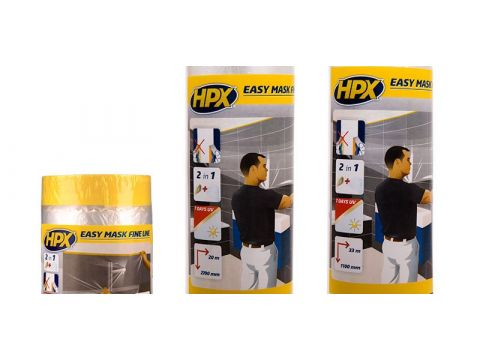 Hpx easy mask film mask tape gold 550mmx33m