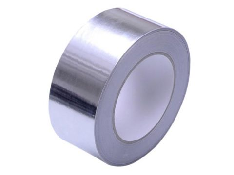Onderd aluthermo kleefband  100mm 50m/r