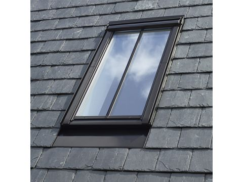 Velux classico  gpl 2570h mk08 hout wit