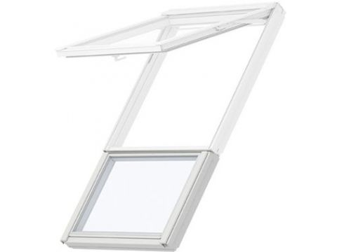 Velux gil 2070 sk34 energy&comfort hout wit