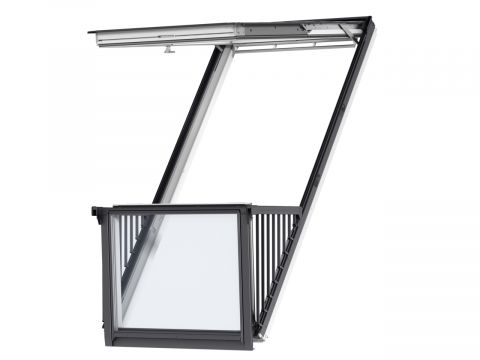 Velux cabrio gdl 2066 sk19 energy star hout w