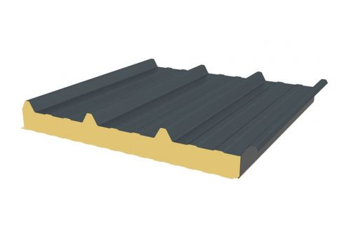 Ji roof 45. 333 4,6x1,05 7016 100mm 4,83m2/pl