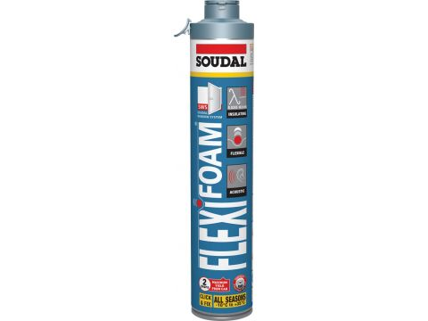 Soudal flexifoam c&f 750 ml